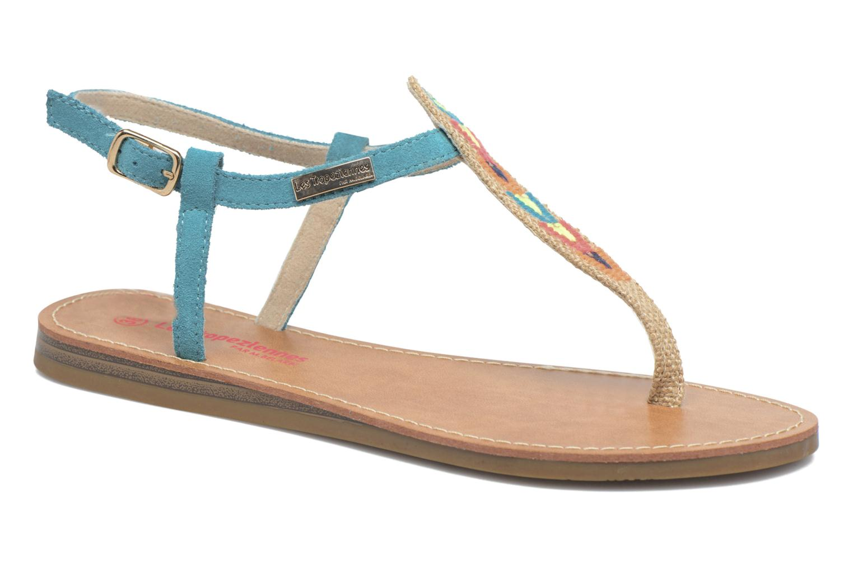 Les Tropéziennes par M Belarbi Geronima (Bleu) - Sandales et nu-pieds chez Sarenza (308285)
