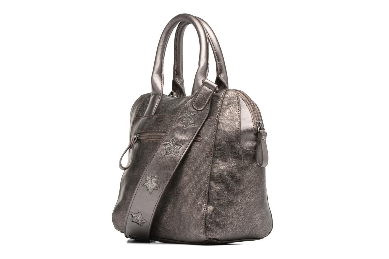 ALIA Handbag M Pewter comb