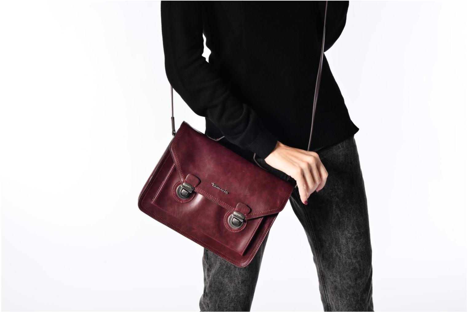 ADRIEL Satchel bag Vino