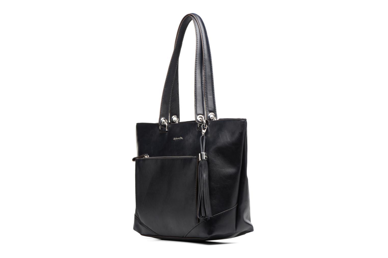 Sacs à main Tamaris MELANIE Shopping bag Bleu vue portées chaussures