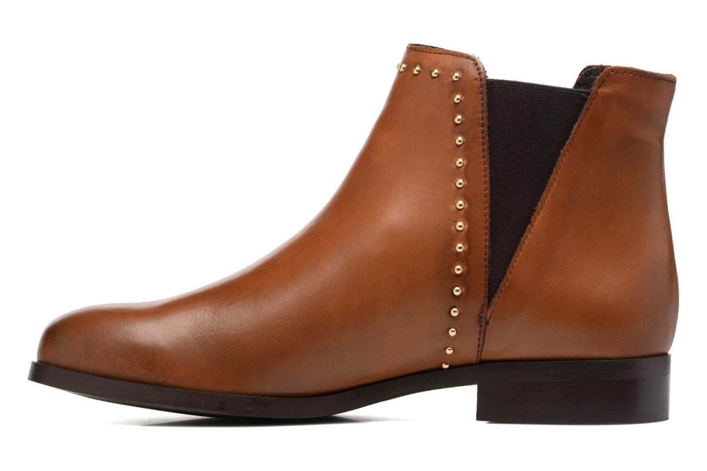 Bottines et boots Georgia Rose Soclou Marron vue face