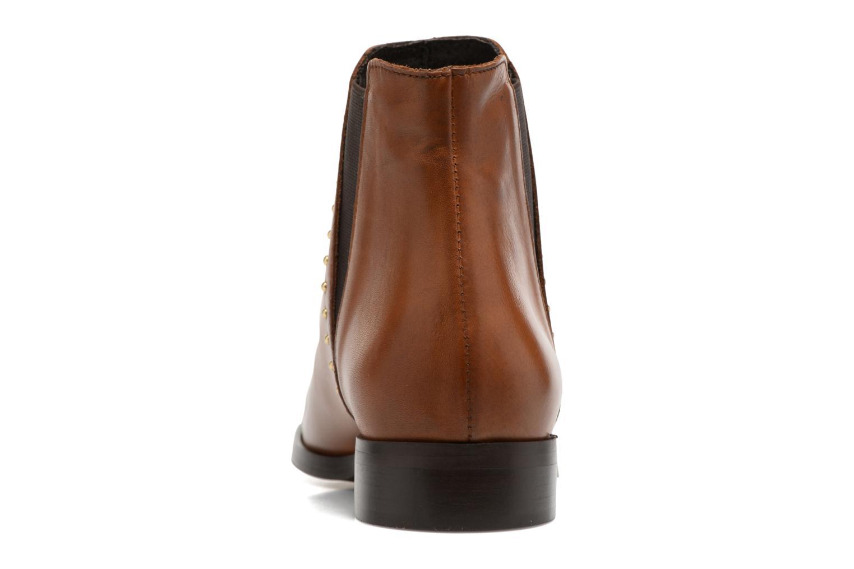 Bottines et boots Georgia Rose Soclou Marron vue droite