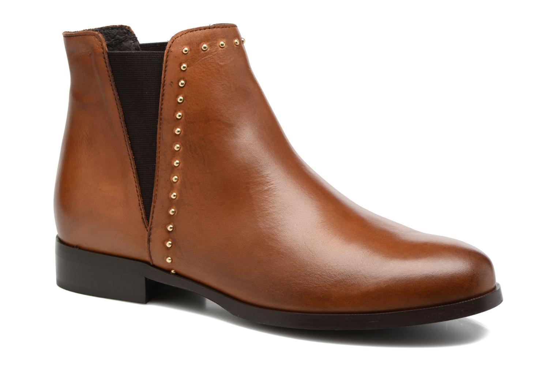 Bottines et boots Georgia Rose Soclou Marron vue détail/paire