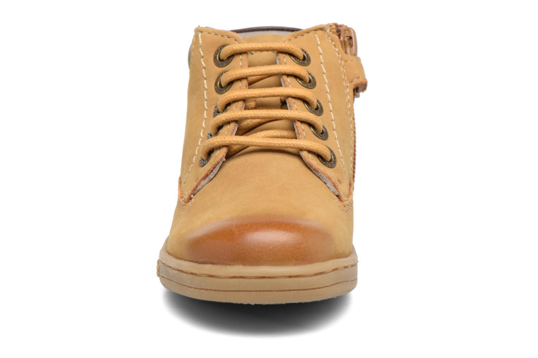 Bottines et boots Kickers Tackland Marron vue portées chaussures