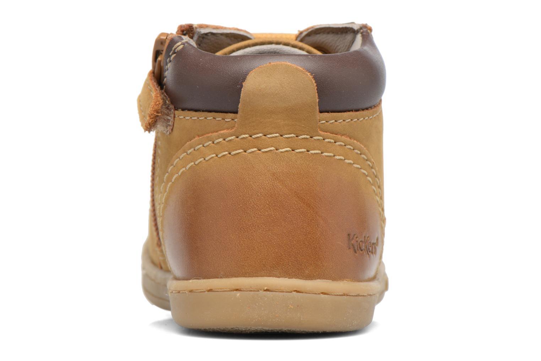 Bottines et boots Kickers Tackland Marron vue droite