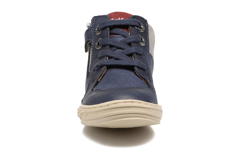 Baskets Kickers Joujou Bleu vue portées chaussures