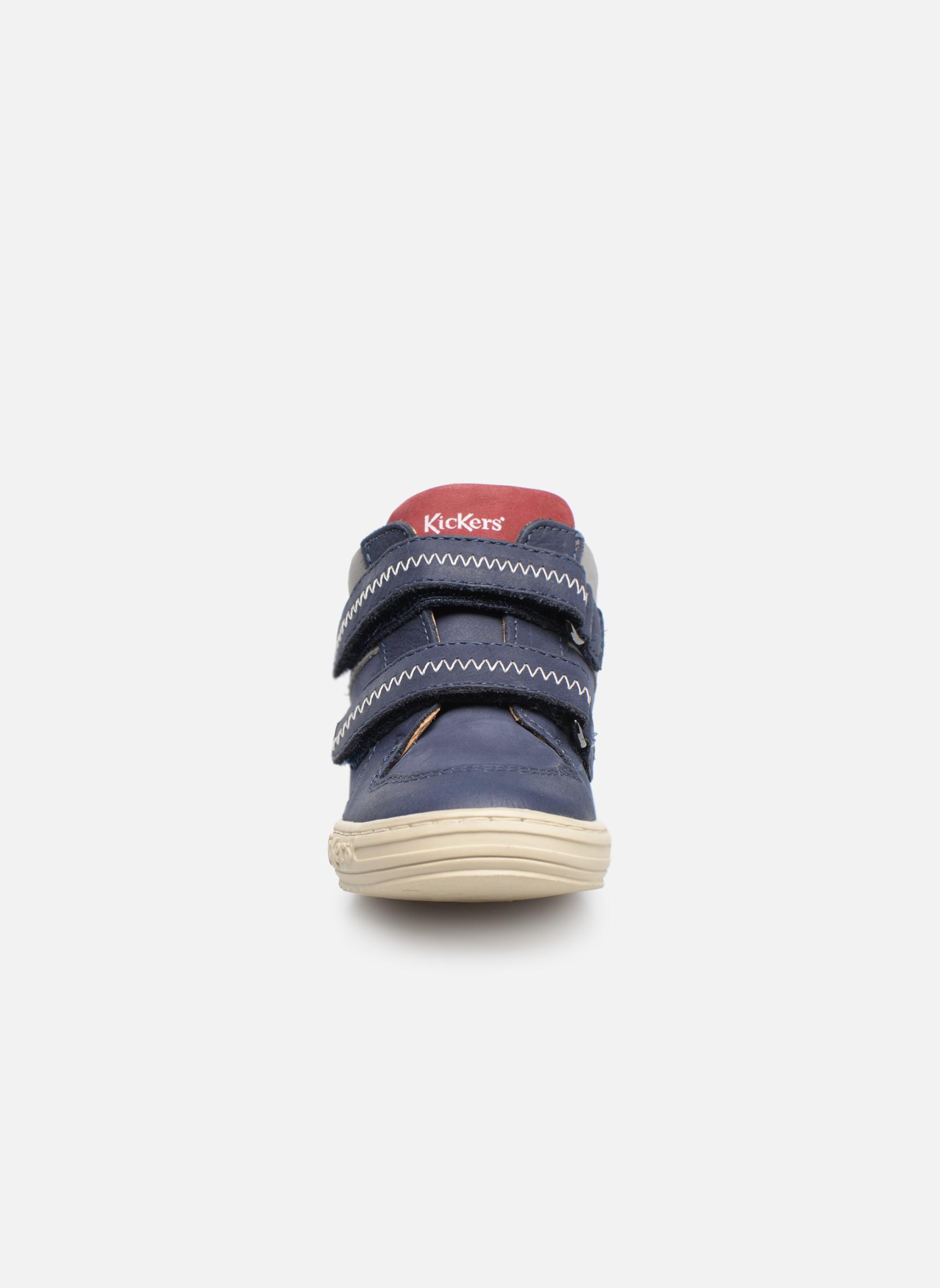 Bottines et boots Kickers Jordie Bleu vue portées chaussures