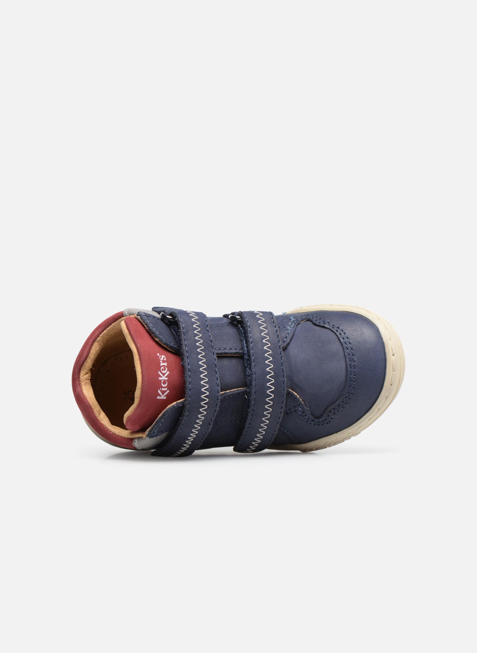 Bottines et boots Kickers Jordie Bleu vue gauche