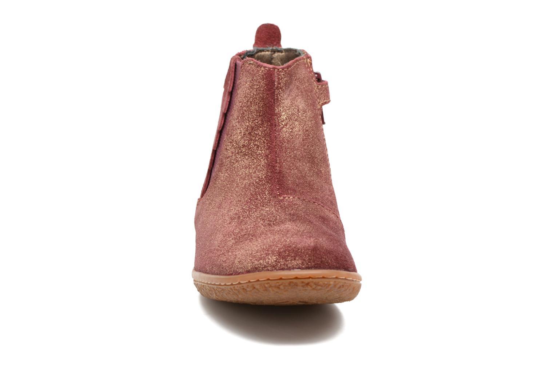 Bottines et boots Kickers Vinciane Bordeaux vue portées chaussures