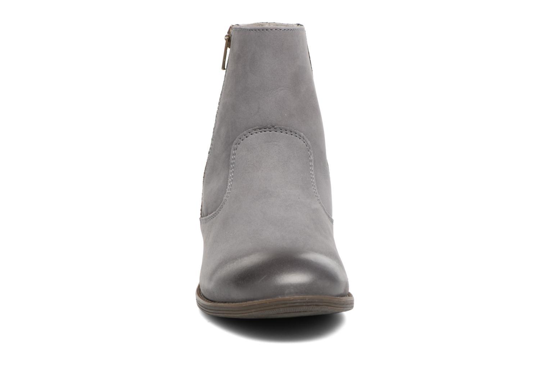 Bottines et boots Kickers Rox Gris vue portées chaussures