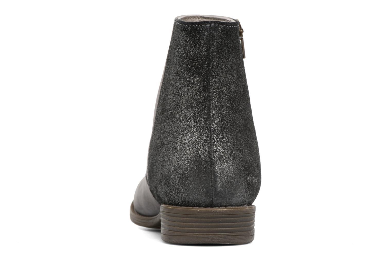 Bottines et boots Kickers Rox Gris vue droite