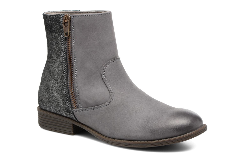Bottines et boots Kickers Rox Gris vue détail/paire