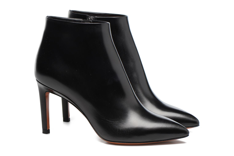 Bottines et boots Santoni Engel 56724 Noir vue 3/4