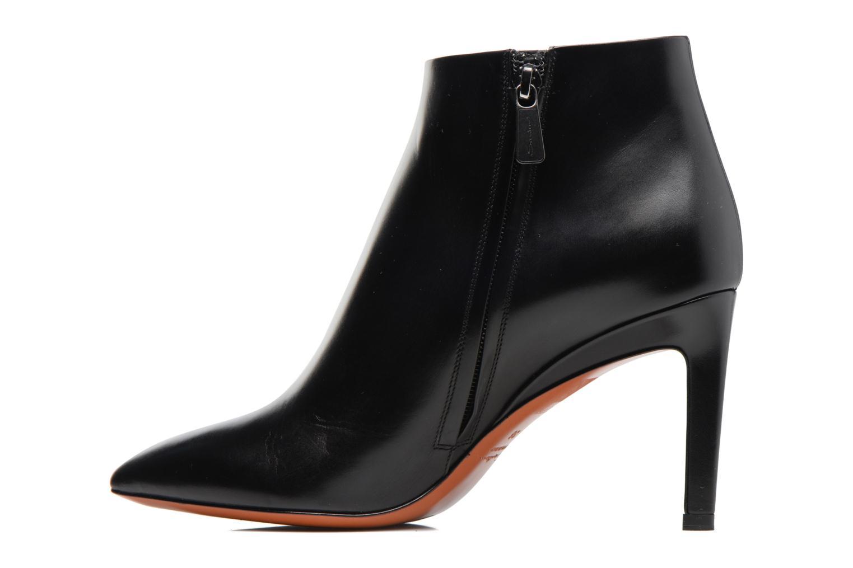 Bottines et boots Santoni Engel 56724 Noir vue face