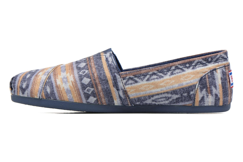 Espadrilles Skechers Bobs Plush Wonder Blue front view