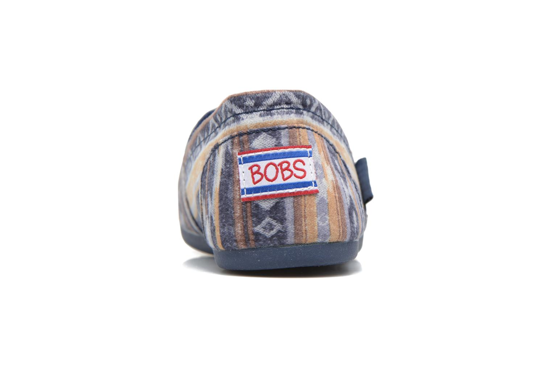 Espadrilles Skechers Bobs Plush Wonder Bleu vue droite