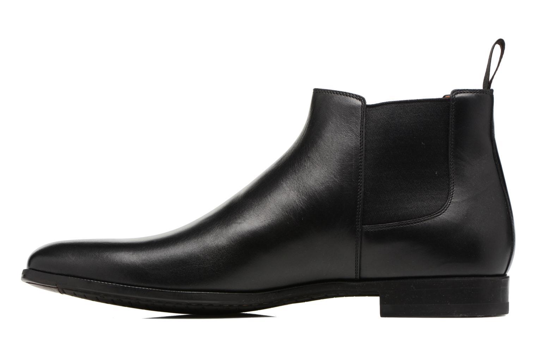 Bottines et boots Santoni William 15312 Noir vue face