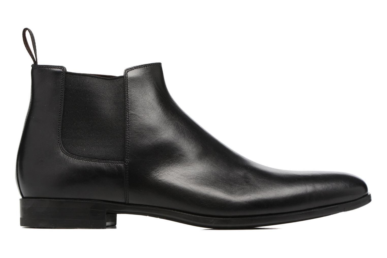 Bottines et boots Santoni William 15312 Noir vue derrière
