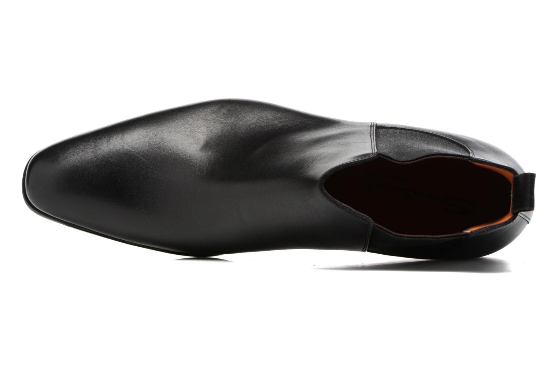 Bottines et boots Santoni William 15312 Noir vue gauche