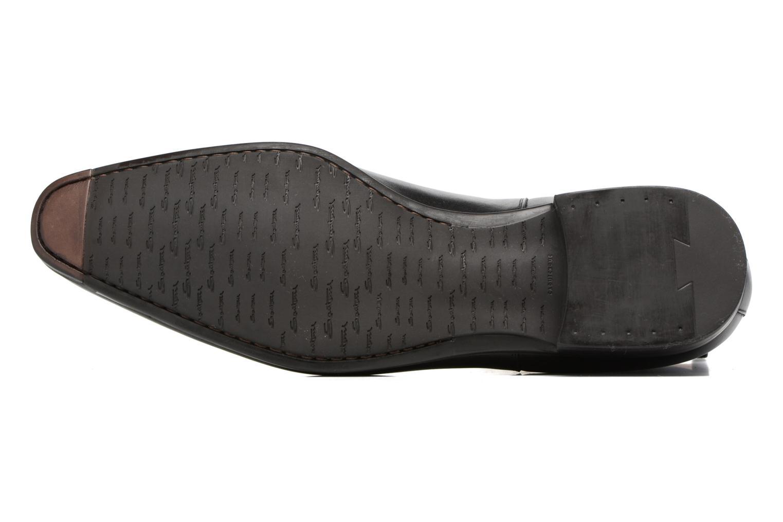 Bottines et boots Santoni William 15312 Noir vue haut