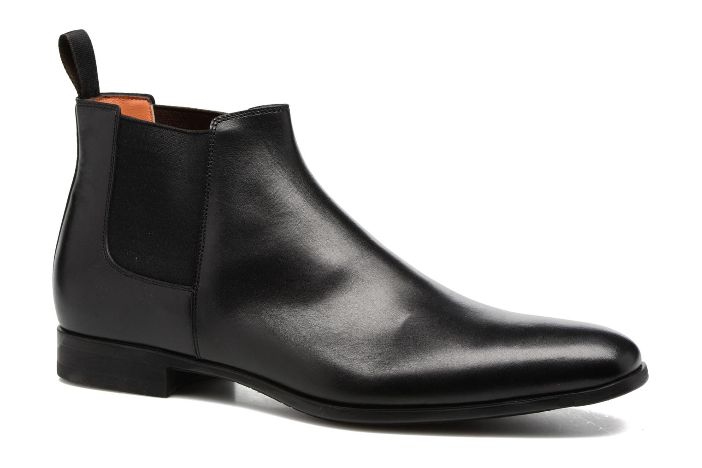 Bottines et boots Santoni William 15312 Noir vue détail/paire