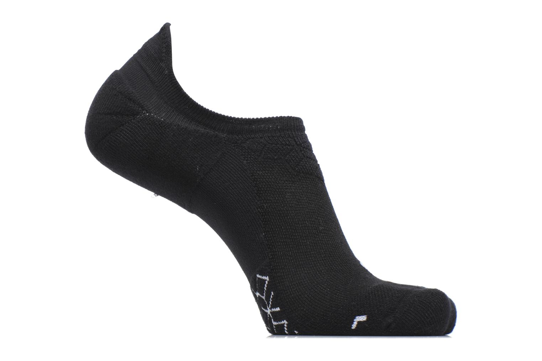 Unisex Nike Dry Elite Cushioned No-Show Running Sock Black/white