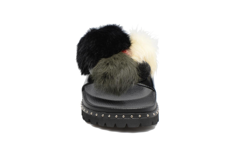 Mules et sabots Sixty Seven Belle Noir vue portées chaussures