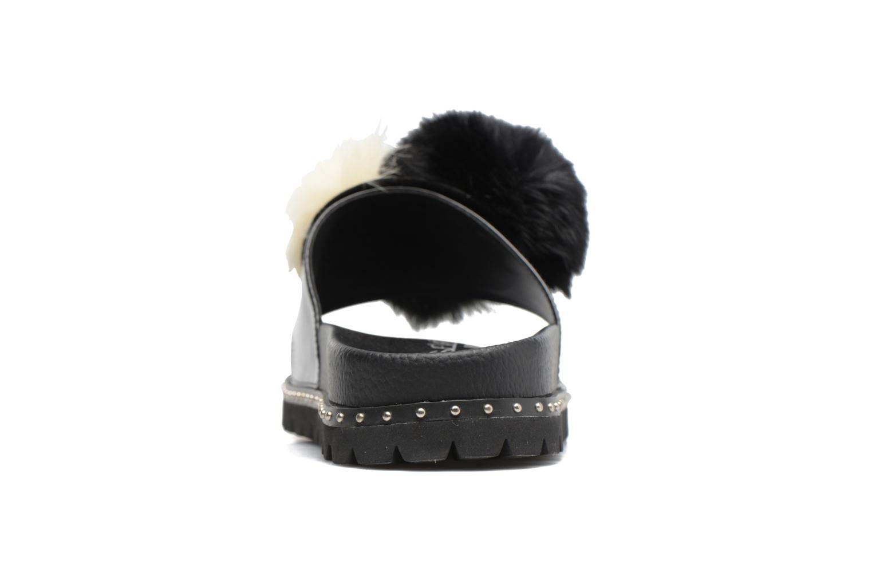 Belle Soft nappa Black combo black