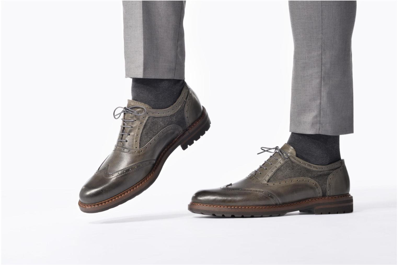 Scarpe con lacci Mr SARENZA Nelaton Verde immagine dal basso