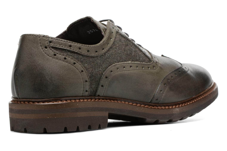 Chaussures à lacets Mr SARENZA Nelaton Vert vue face