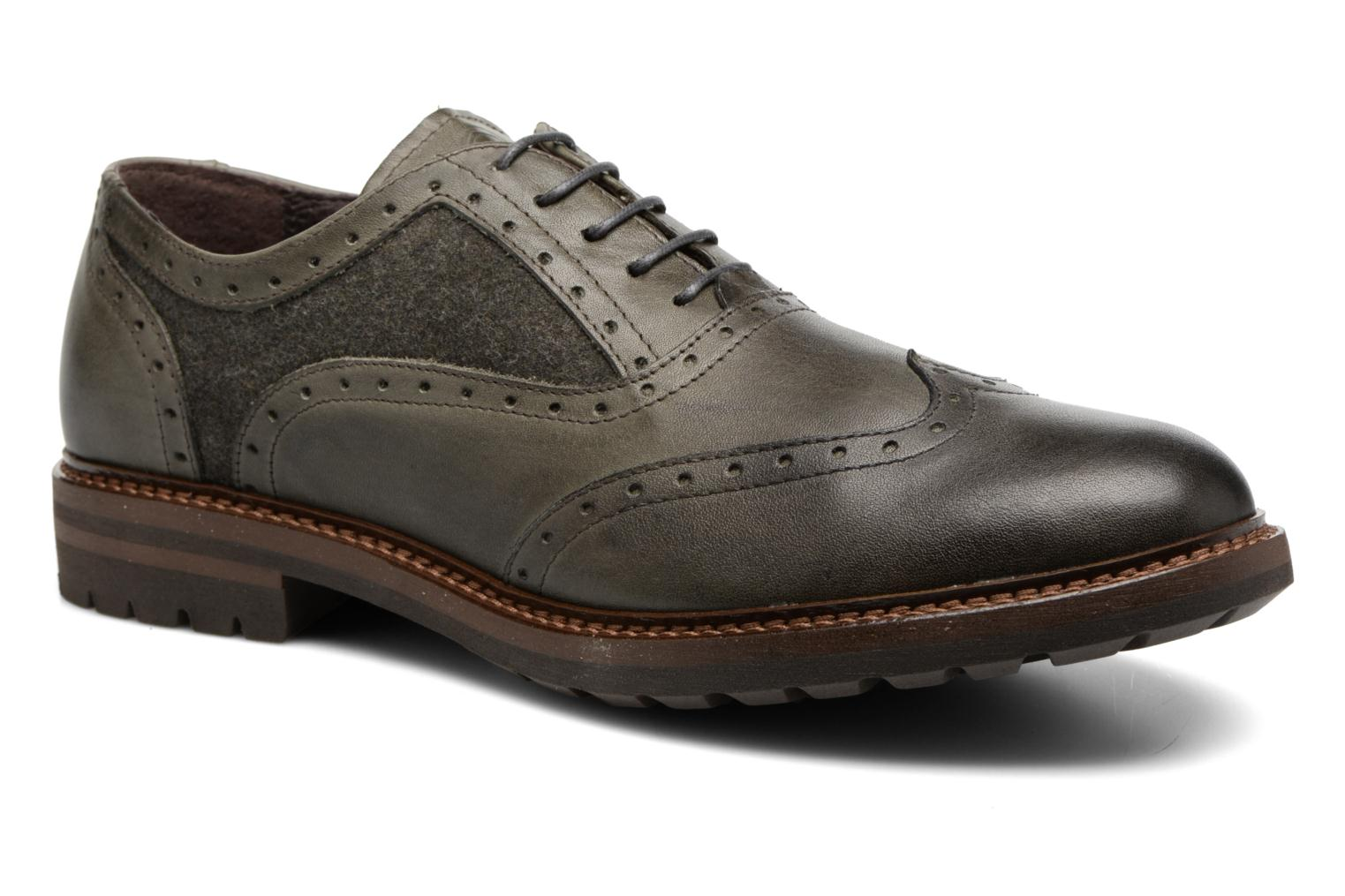 Lace-up shoes Mr SARENZA Nelaton Green view from the right