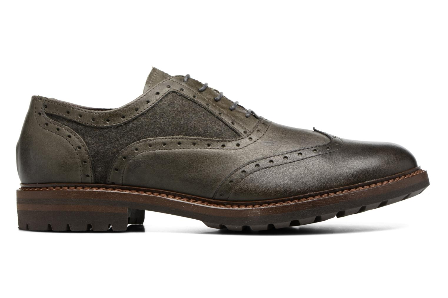 Lace-up shoes Mr SARENZA Nelaton Green detailed view/ Pair view