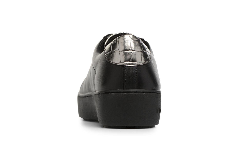 Baskets Michael Michael Kors Poppy Lace Up Noir vue droite