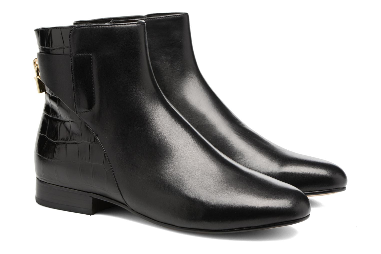 Bottines et boots Michael Michael Kors Mira Flat Bootie Noir vue 3/4