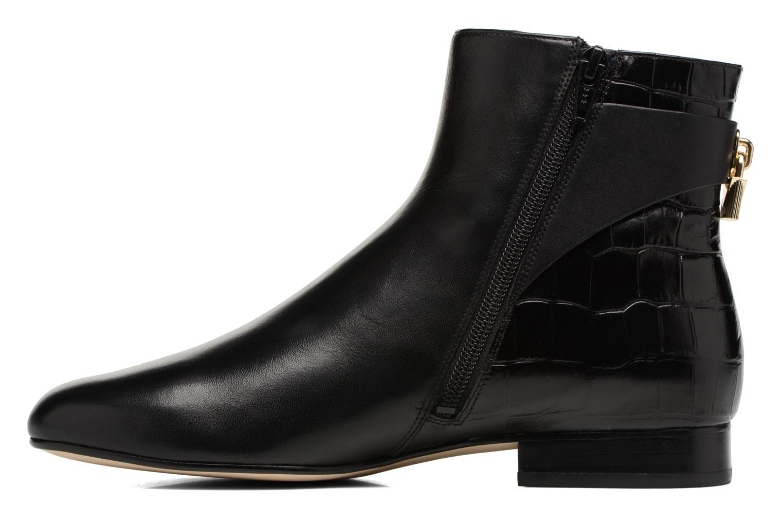 Mira Flat Bootie 001 black