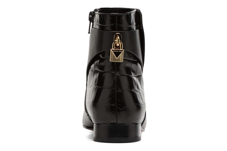 Bottines et boots Michael Michael Kors Mira Flat Bootie Noir vue droite