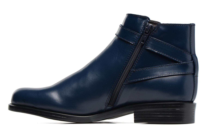 Bottines et boots PintoDiBlu Nina Bleu vue face