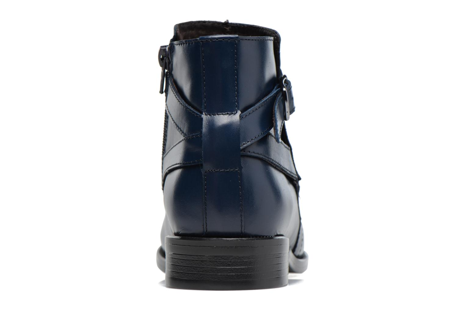 Ankle boots PintoDiBlu Nina Blue view from the right