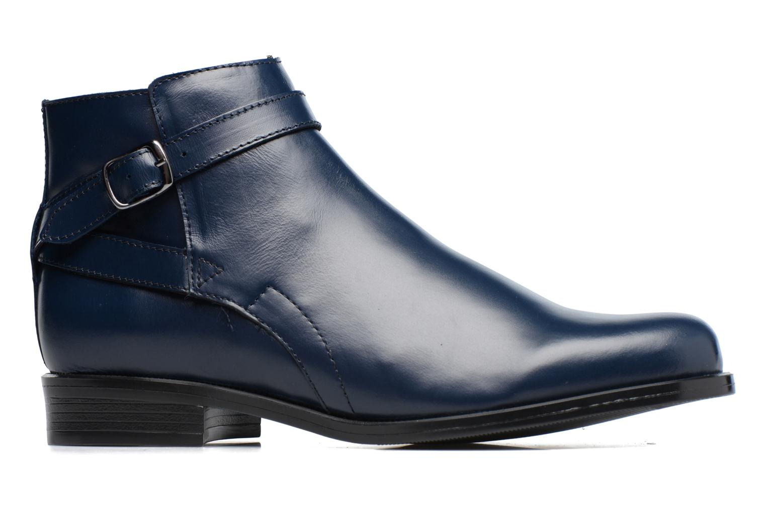 Ankle boots PintoDiBlu Nina Blue back view