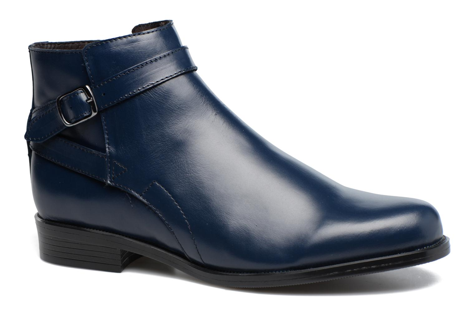 Ankle boots PintoDiBlu Nina Blue detailed view/ Pair view