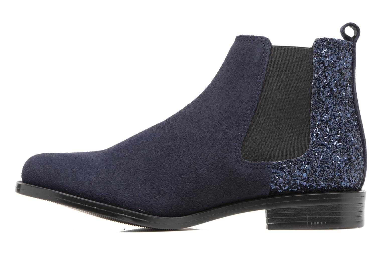 Bottines et boots PintoDiBlu Coralina Bleu vue face
