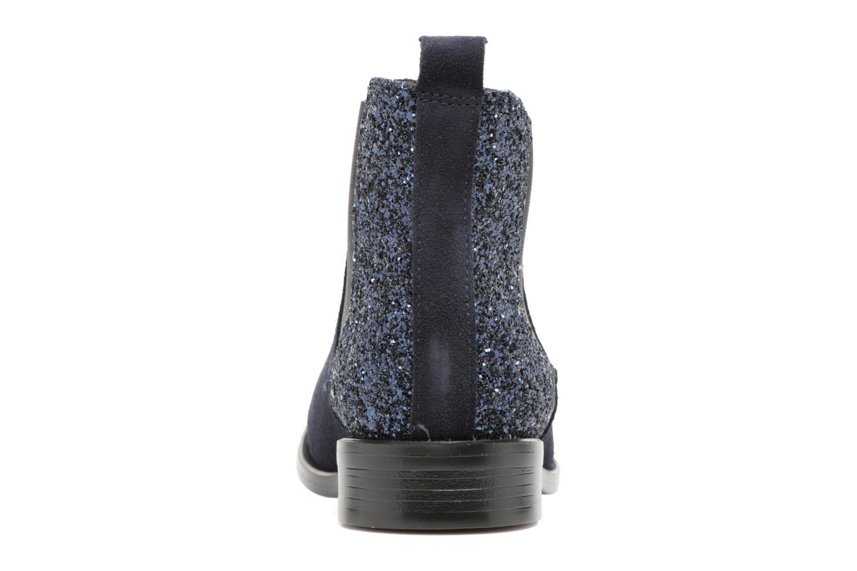Bottines et boots PintoDiBlu Coralina Bleu vue droite