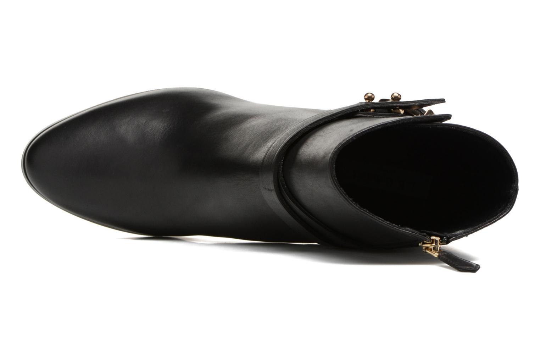 Bottines et boots L.K. Bennett Josie Noir vue gauche
