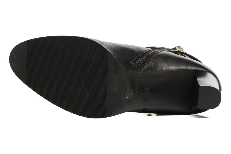 Bottines et boots L.K. Bennett Josie Noir vue haut