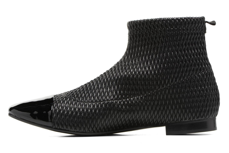 Bottines et boots Heyraud DIANE Noir vue face