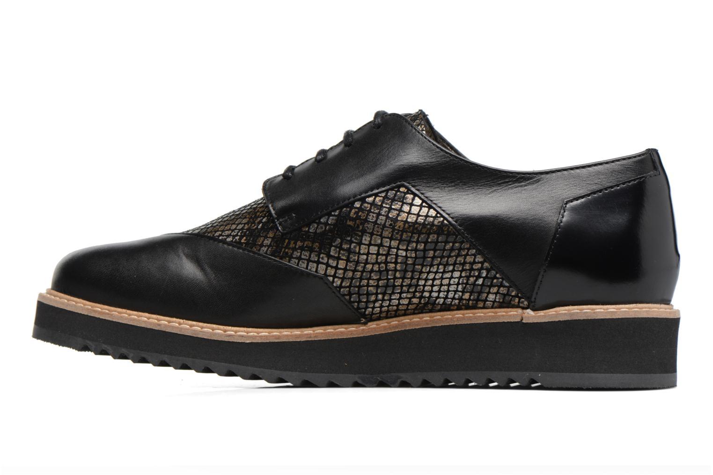 Chaussures à lacets HE Spring Lutin Noir vue face