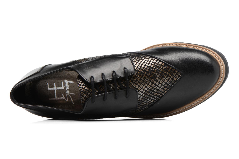 Chaussures à lacets HE Spring Lutin Noir vue gauche