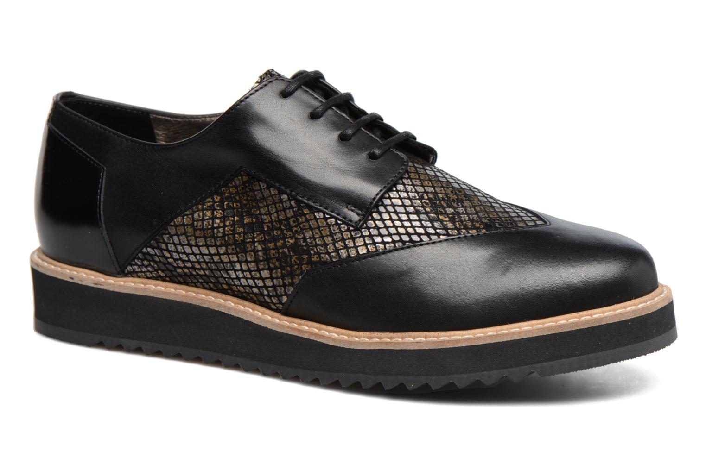 Chaussures à lacets HE Spring Lutin Noir vue détail/paire