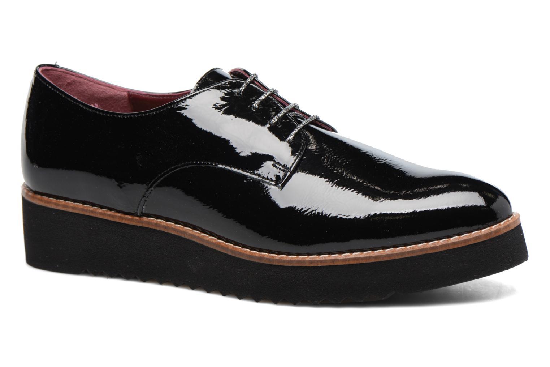 Chaussures à lacets HE Spring Lana Noir vue détail/paire