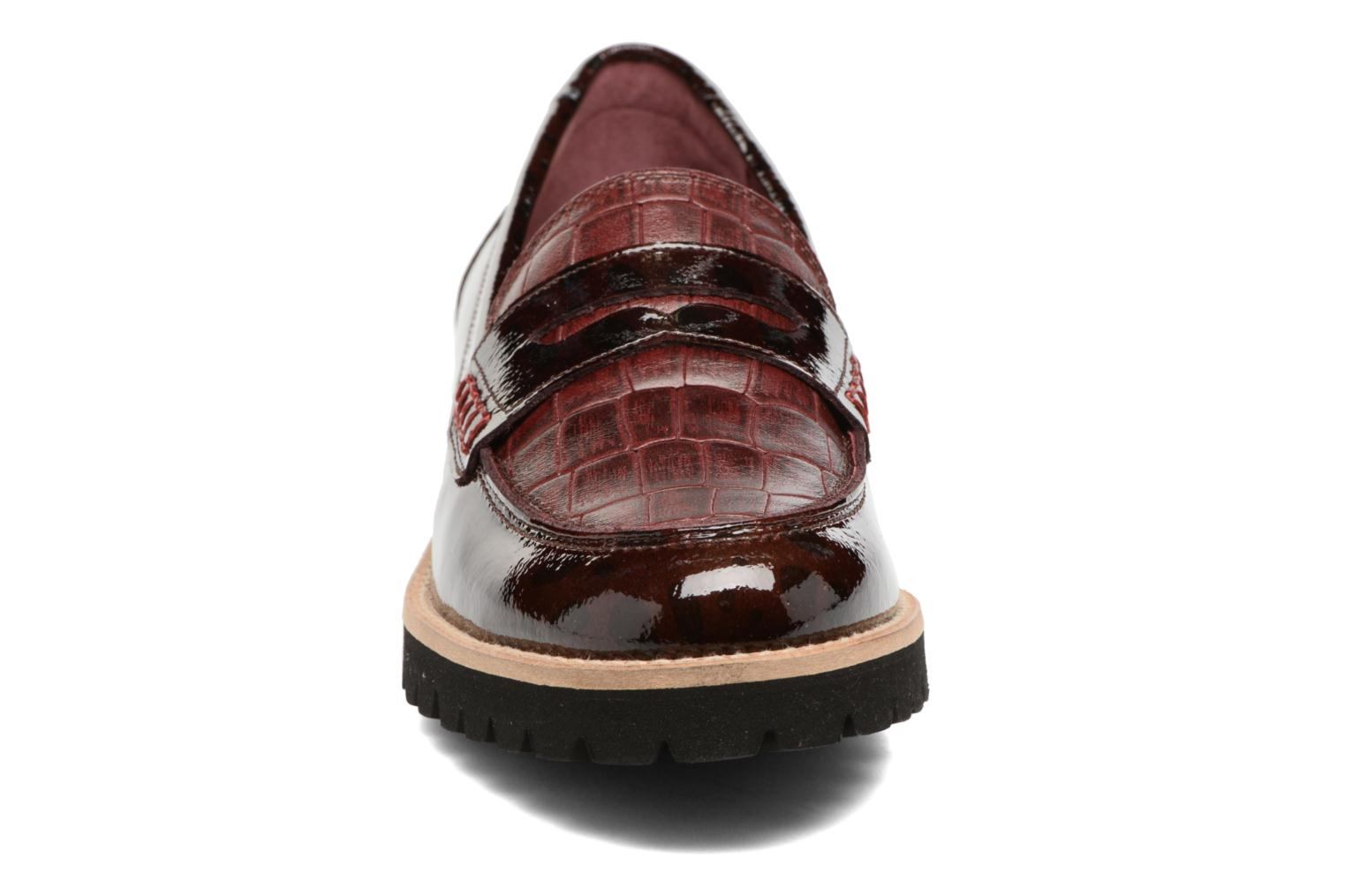 Loafers HE Spring Lulu Burgundy model view